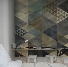 Rebel-Walls-Wallpaper-Art-Quadrangle-Blue-02-Remodelista