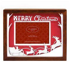 St. Nicholas Square ''Merry Christmas'' 4'' x 6'' Frame