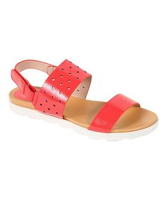 Coral Judith Sandal