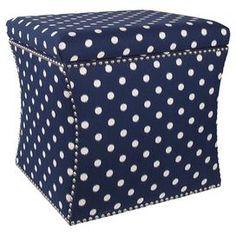 Zoey Upholstered Storage Ottoman