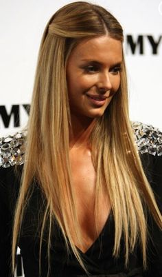 jennifer hawkins straight hair - Google Search