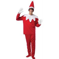 Our Scout Elf Costume brings the Elf on the Shelf Christmas tradition to life! Adult Scout Elf Costume includes a hat with attached hair, a shirt, pants and gloves. Elf On The Shelf, The Elf, Matching Christmas Sweaters, Ugly Christmas Sweater, Ugly Sweater, Christmas Clothing, Christmas Elf Costume, Halloween Costumes, Halloween Ideas