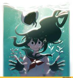 Boku no Hero Academia,Anime,Аниме,Asui Tsuyu,Tsuyu Asui,IMJAYU