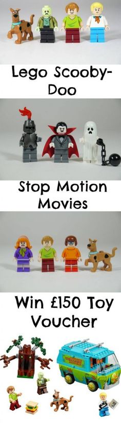 And you could win to buy your own! And they're producing some cool videos for the kids! Scooby Doo Toys, Stop Motion Movies, Pokemon, Motion Video, Legos, 3rd Birthday, Dads, Snoopy, Videos