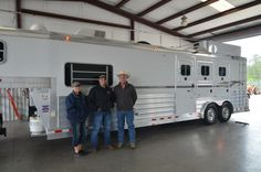 Thank you to the Sandlings from Conroe, Texas and Gulf Coast 4-Star Trailer Sales!!  (877) 543-0733