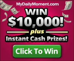 Instant win sweepstakes are easy to enter and a fun to win! No need to wait for a win, you'll know after you hit the send button. Win food, gift cards, pet food and more! Free Beauty Samples, Free Makeup Samples, Free Samples, Instant Win Games, Instant Cash, Free Stuff By Mail, Winning Numbers, Breakfast For Dinner, Good To Know