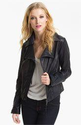 Trouvé Leather Moto Jacket | Nordstrom