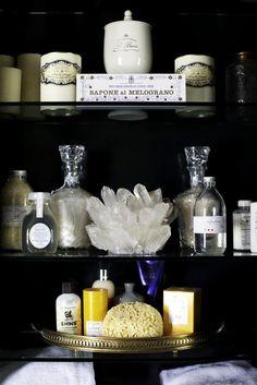dustjacket attic: Black   Glamorous   Interiors // Essentials