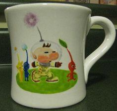 Hand Painted Pikmin Mug