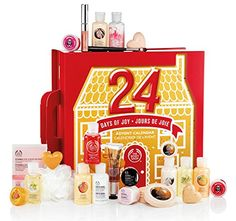 THE BODY SHOP 24 DAYS OF JOY LADIES LUXURY ADVENT CALENDAR - BEAUTY GIFT SET: Amazon.co.uk: Beauty