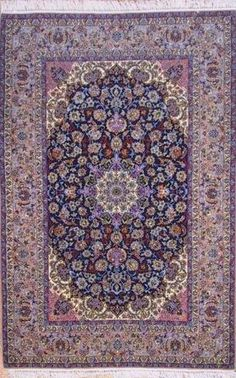 Isfahan persian rugs are one of the finest rugs made among persian rugs.