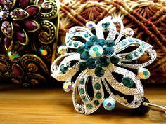 Pretty Jewelry Badge Holder  Retractable by BadgeAlleybyGerAnne