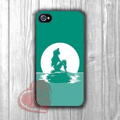 ariel green art mermaid -1na for iPhone 4/4S/5/5S/5C/6/ 6+,samsung S3/S4/S5,samsung note 3/4