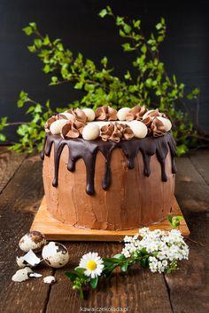 Tort czekoladowy, urodzinowy | Kawa i Czekolada