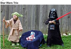 Annual Modern Kiddo We Love Homemade Costumes Parade! – Modern Kiddo => STAR WARS for the whole family! Yoda Halloween, Epic Halloween Costumes, Halloween 2016, Halloween Pictures, Halloween Halloween, Kids Star Wars Costumes, Family Costumes, Star Wars Kids, Star Wars Baby
