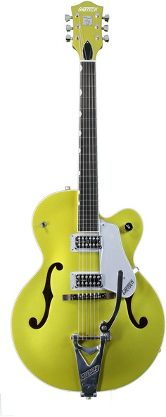 Gretsch Brian Setzer Hot Rod (Lime Gold). I am going to buy this guitar, paint it pink, and get Reba McEntire to sign it!