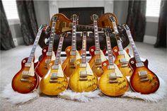 A Gibson Les Paul convention