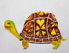Turtle (analagous or neutral tones focus)