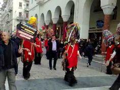 ΣΟΧΟΣ Κουδουνοφόροι στη Πλατεία Αριστοτέλους, 2010 - YouTube
