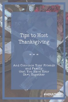 Whether it is your first year cooking the turkey, or your fifteenth,  chances are you are at least a little nervous. Your in-laws might be  coming;your estranged cousin might open that closet where you threw all of  the mess from your living room;or your boss might make a joke about how a  raise is in your future if the food is good. Although the essence of  Thanksgiving is wholesome, it seems like the stakes are a bit higher than  most other holidays -- but maybe that's just me!  You…