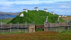 L'Anse aux Meadows... discovered on the northernmost tip of Newfoundland in 1960.  It is an archaeological site that shows the only known site of a Norse or Viking village in Canada, and in North America outside of Greenland. Dating to around the year 1000, it remains the only widely accepted instance of pre-Columbian trans-oceanic contact and is notable for its possible connection with the attempted colony of Vinland established by Leif Ericson around the same time period. I was there in…