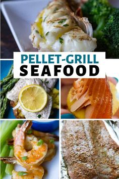 These Traeger Grilled Seafood recipes are going to have you craving fish and seafood all through the week! Fire up the wood-pellet grill and get cooking! Grilled Cod, Grilled Halibut, Grilled Seafood, Grilling Shrimp, Grilling Corn, Grilling Chicken, Grilled Fish Recipes, Halibut Recipes, Amigurumi