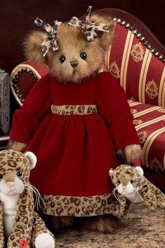 Willie and Wendy Winters Set 4.5 Bearington