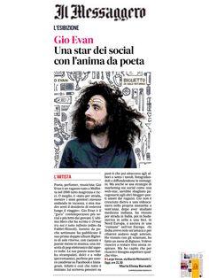 Gio Evan - Una star dei social con l'anima da poeta - Il Messaggero