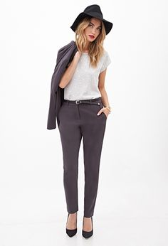 Classic Woven Trousers | FOREVER21 - 2000063280