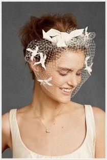 Vintage Birdcage Veil ♥ Chic Bridal Headpieces | Kus Kafesi Duvak Modelleri