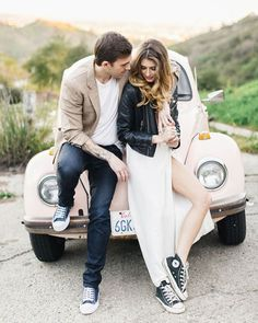 Wedding photography, engagement photo outfits, casual engagement photos, we Casual Engagement Photos, Engagement Photo Outfits, Engagement Photo Inspiration, Engagement Couple, Engagement Session, Couple Photography, Engagement Photography, Wedding Photography, Casual Wedding