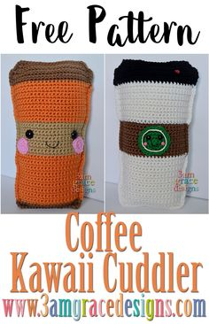 Fall has arrived! We love exchanging out our flip flops for Converse and hoodies. Let's not forget — it's also Pumpkin Spice everything season. From pumpkin butter to the sacred Pumpkin Spice Latte! To celebrate, we've created a Coffee Kawaii Cuddler. We've included instructions to make either a pumpkin spice latte or a regular coffee …