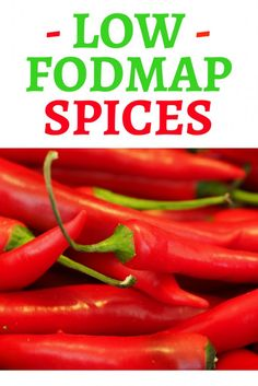 Low FODmap spices and herbs! When you hear that garlic and onion are out from the menu, that's when the long and painful 'spice quest' begins...