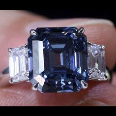 Blue diamonds | Ellis Barrington denning's collection of 10+