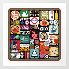 This Is The Modern World Too Art Print by Needs & Wishes - $18.00