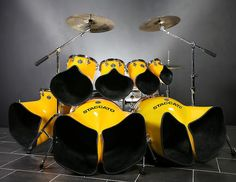 Drums Aloud - Home Page: Carter Anthony Beauford Drum Set Up