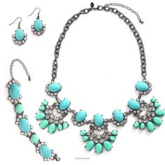 2014 Spring / Summer Collection  S-130089 Fancy That Set  Contact me at www.justjewelry.com/gettingbeautiful