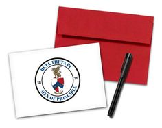 betathetapi-sealnotecard Wooden Greek Letters, Bid Day, Theta, Note Cards, Envelope, Seal, Print Design, Frame, Prints