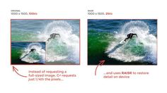 #Fotografía #RAISER #tecnología Google+ usa nueva tecnología para mostrar imágenes a gran calidad ahorrando en datos