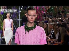 Christian Dior Spring/Summer 2014 FIRST LOOK | Paris Fashion Week PFW | ...