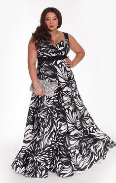 Maddalena http://www.curvety.com/igigi-by-yuliya-raquel-maddalena-maxi-dress-in-black-and-ivory-p792