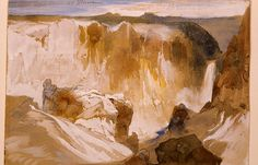 Yellowstone Canyon, Yellowstone National Park, Wyoming (pinned by haw-creek.com)