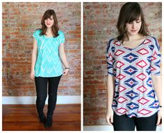 Variations on the (free) hemlock tee :: four square walls
