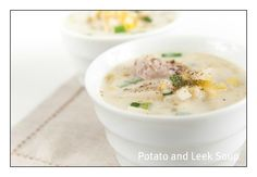 Potato and Leek Soup | Stay at Home Mum