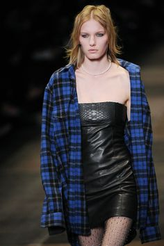 #SaintLaurent @YSL weighs in on the punk/grunge trend that is going to dominate Fall 2013, will you be getting in on the look? #PFW