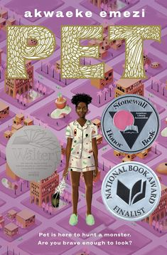 Pet by Awaeke Ezemi, 208 pp, RL: Middle School Ya Books, Books To Read, Books By Black Authors, Mother Painting, Black Trans, National Book Award, Ya Novels, Animal Books, First Novel