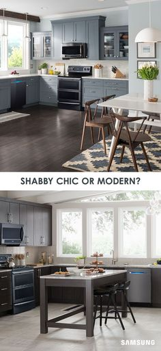 Whether you're going for a shabby chic vibe or a clean, modern style, our Black Stainless Steel appliances can complement just about any kitchen makeover. See for yourself with our Home Appliance Design Tool. With the push of a button, you can mix and match color palettes on everything from your cabinets to your backsplash. Prepare to be inspired.