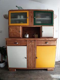 Restauration d'un buffet des années 50 Restaurant, Liquor Cabinet, Storage, Furniture, Home Decor, Restoration, Purse Storage, Decoration Home, Room Decor