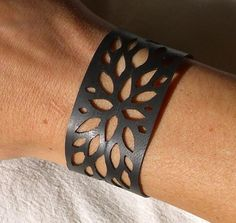 cutout inner tube bracelet