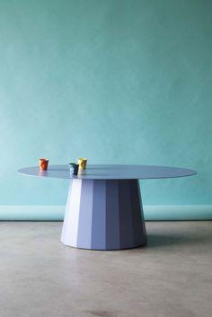Table basse Ankara - Disponible dans 28 couleurs - Matière Grise #mobilier #metal #indoor
